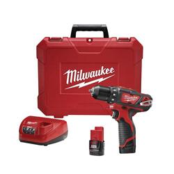 Milwaukee® 2407-22 3/8 DRILL/DRVR KT