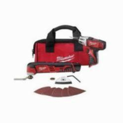 Milwaukee® M12™ Cordless Oscillating Tool Kit, 12 V, 1.5 Ah Li-Ion Battery, 5000 - 20000 opm (Kit)