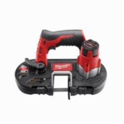 Milwaukee® M12™ Cordless Band Saw, 1-5/8 in Cutting, 27 in L x 1/2 in W x 0.02 in THK Blade, 12 V, 4 Ah Li-Ion Battery (Bare Tool)
