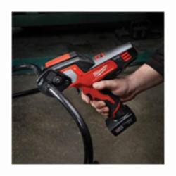 Milwaukee® M12™ Cordless Cable Cutter, 600 MCM Copper, 750 MCM Aluminum Cutting, 12 VAC, 1.5 - 4 Ah Li-Ion Battery (Bare Tool)