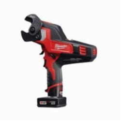 Milwaukee® M12™ REDLITHIUM™ Cordless Cable Cutter Kit, 12 V, 3 Ah Li-Ion Battery, Durable Plastic/Metal Housing