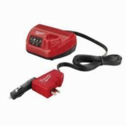 Milwaukee® M12™ AC/DC Wall and Vehicle Charger, For Use With M12™ REDLITHIUM™ and M12™ Lithium-Ion Batteries, 1.5 Ah