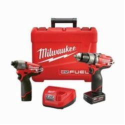 MILW 2597-22 M12 FUEL IMPACT DRIVER AND HAMMER DRILL - 2 TOOL COMBO KIT