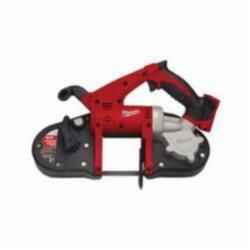 Milwaukee® M18™ Cordless Band Saw, 3-1/4 in Cutting, 35-3/8 in L x 1/2 in W x 0.02 in THK Blade, 18 V, 4 Ah (Bare Tool)
