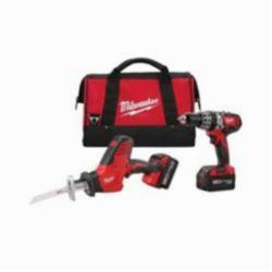 Milwaukee® M18™ Cordless Combination Kit, 6 Pieces, Red with Black Overmold (Kit)