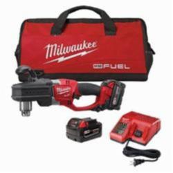 Milwaukee® M18 FUEL™ HOLE HAWG® Cordless Right Angle Drill Kit, 1/2 in Metal Chuck, 650 ft-lb Torque, 18 V (Kit)