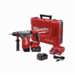 Milwaukee® M18 FUEL™ Cordless Rotary Hammer Drill Kit, 1-1/8 in Keyless, SDS Plus Chuck, 18 V, Li-Ion Battery (Kit)