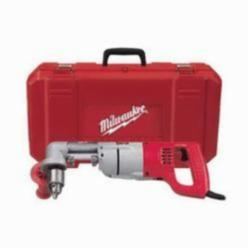 Milwaukee® 3002-1 Grounded Right Angle Drill Kit, 1/2 in Keyed Chuck, 763 in-lb Torque, 120 VAC (Kit)