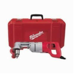 Milwaukee® 3107-6 Grounded Right Angle Drill Kit, 1/2 in Keyed Chuck, 120 VAC (Kit)