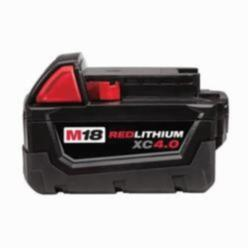 Milwaukee® M18™ Rechargeable Cordless Battery Pack, 4 Ah Li-Ion Battery, 18 V