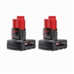 Milwaukee® M12™ Rechargeable Cordless Battery Pack, 3 Ah Li-Ion Battery, 12 V
