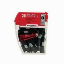 Milwaukee® SHOCKWAVE™ 48-32-4462 Impact Duty Power Bit, No 2 Phillips Point, 2 in L, NO 2 Drive/Shank, Steel