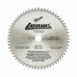 Milwaukee® Endurance® Circular Saw Blade, 6-1/2 in Dia, 5/8 in, 60 MATB Teeth, Carbide Cutting Edge