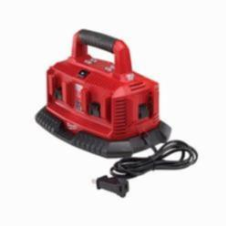 Milwaukee® M18™ Six-Pack Sequential Charger, For Use With Milwaukee M18™ Battery, 1.5 Ah, 2 Ah, 3 Ah, 4 Ah, 1/2 to 1 hr