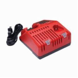 Milwaukee® M18™ & M12™ 48-59-1812 Multi-Voltage Slide Battery Charger, For use with M18™ and M12™ Batteries, 3 Ah