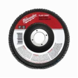 Milwaukee® 48-80-8102 Conical Type 29 Coated Flap Disc, 4-1/2 in Dia, 7/8 in, 80 Grit, Medium Grade