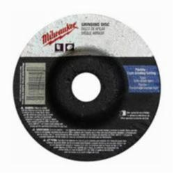 Milwaukee® 49-94-4510 Reinforced Type 27 Grinding Wheel, 4-1/2 in Dia x 1/8 in THK, 7/8 in, A30S Grit