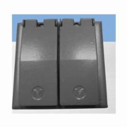 Mulberry 30452 Self-Closing Electric Box Cover, Aluminum
