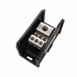 (1) 350 MCM - 6 AWG PRIMARY (6) 2/0-14 SECONDARY, POWER DISTRIBUTION BLOCK