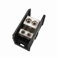 (2) 500 MCM -6 AWG PRIMARY (4) 4/0-6 SECONDARY, POWER DISTRIBUTION BLOCK