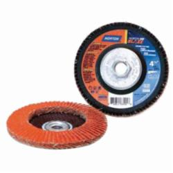 NOR 4-1/2X5/8-11 36-GRIT FLAP DISC R980P TYPE-29 BLAZE
