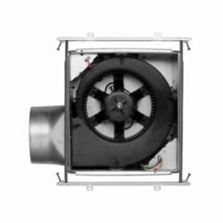 NuTone® ZB80 ULTRA GREEN™ Multi-Speed Ventilation Fan, 80 cfm at 0.1 in, 6 in Duct, 5.8 W, 120 VAC, 0.1 A