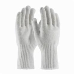 PIP® 35-CB604 Extra Heavy Weight Knit Gloves, L, White, Full Fingered, Seamless Knit, 7 ga Cotton/Polyester