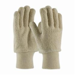PIP® 42-C713 Heavy Weight Protective Gloves, L, Natural, Ambidextrous, Full Finger, Cotton/Terrycloth