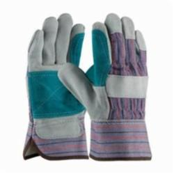PIPR 84-7533J-LG DOUBLE LEATHER PALM REINF GLOVE