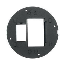 PREMISE WIRING SystemOne™ S1SP4IM Flush Fire Rated Poke Throughs Sub Plate, For Use With Hubbell Datacom Devices