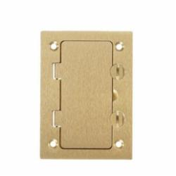 HUBW S3826 1 GANG BRASS COVER