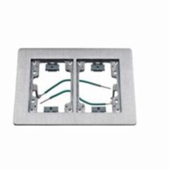 Wiring Device-Kellems SA3084W Rectangular Floor Flange, For Use With Flush Floor Box, Aluminum