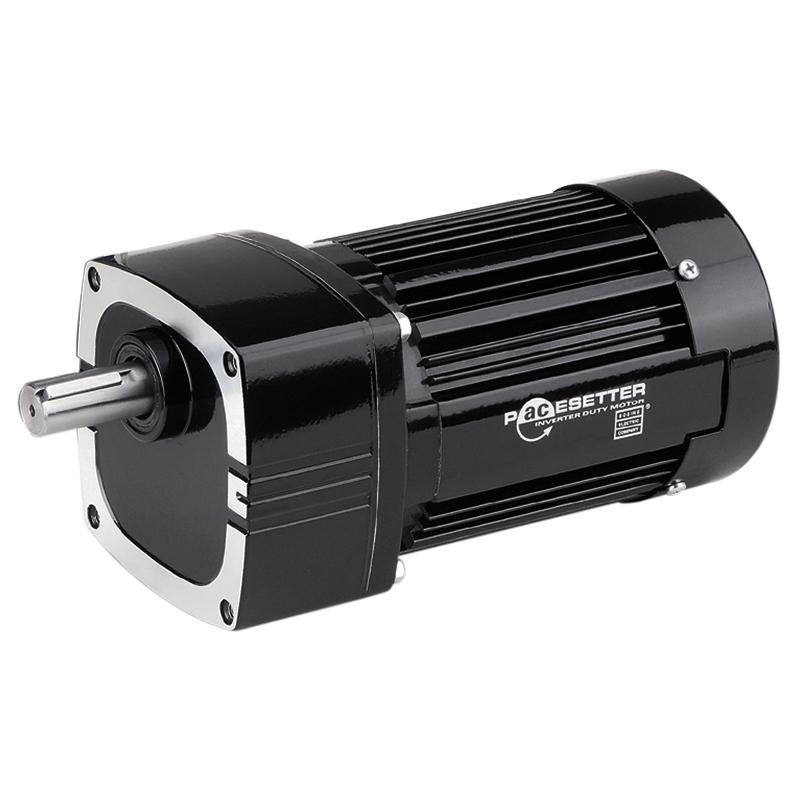 Pacesetter42r f bodine n2264 3 8 hp 113 rpm 3 phase inverter duty parallel shaft