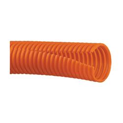 Panduit® CLT100F-C3 Slit Wall Corrugated Loom Tubing, 0.92 in Inside Dia x 100 ft L x 0.008 to 0.03 in THK, Orange