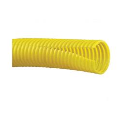 Panduit® CLT150F-D4 Corrugated Slit Wall Loom Tubing, 1.48 in ID, 1.73 in OD, 500 ft L, Polyethylene