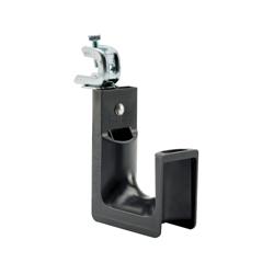 Panduit® J-Pro™ JP2SBC50RB-L20 J Hook With Screw-on Beam Clamp, 30 lb Load, Nylon