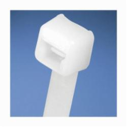 Panduit® PLT1.5I-MCELCO/KVA General Purpose Cable Tie, 5.6 in L x 0.142 in W x 0.045 in THK, Nylon