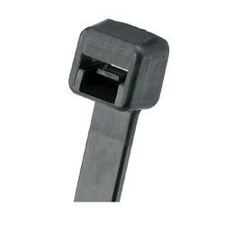 Panduit® PLT2S-C0 1-Piece Standard Cable Locking Tie, 7.4 in L x 0.19 in W x 0.052 in THK, Nylon