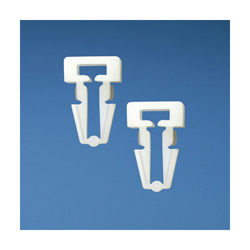 Panduit® PM2H25-M Cable Tie Mount, 2-Way, Push Barb Mount, 0.19 in W Max, Nylon, Natural