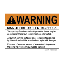 PAND PPS0507W2200 SAFETY SIGN