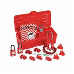 Panduit® PSL-KT-CONA Contractor Lockout Kit, Red