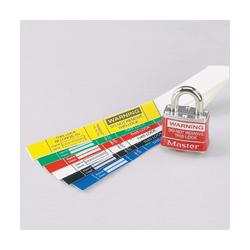 PAND PSL-PL1WHTY Self-Laminating Padlock Labels 10