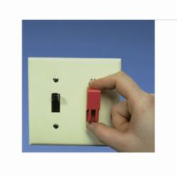 Panduit® PSL-WS Toggle Switch Lockout, 0.45 to 0.78 in H x 0.25 to 0.38 in W x 0.25 to 0.4 in D