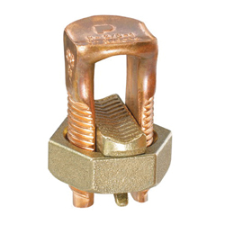 Panduit®Pan-Lug™ SBC Mechanical Split Bolt Connector, 2 - 2/0 AWG Stranded Copper Conductor, 1.72 in x 0.79 in Bolt