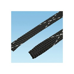 Panduit® SE125PFR-TR0 Braided Sleeve,1.2