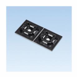 Panduit® SGABM30-AT-C0 Cable Tie Mounting Base, Adhesive Mount, 0.225 in W Max, Nylon, Black