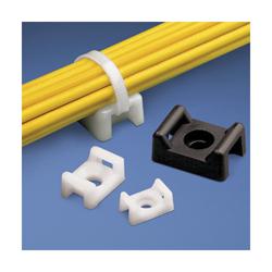 Panduit® TM3S10-C Cable Tie Mount, 2-Way, Screw Mount, 0.3 in W Max, Nylon, Natural