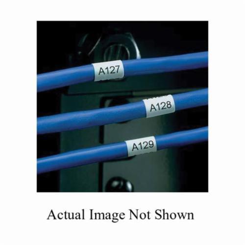 PanduitR N100X075FJJ Non Laminated Label 1 In L X 3 4 W Blank