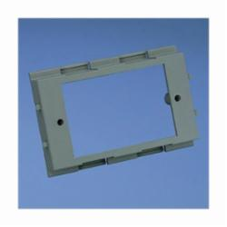 Panduit® T70DB-X Device Mounting Bracket, For Use With T-70, Twin-70, and TG-70 Raceway, PVC, Gray