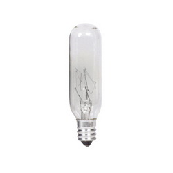 PHIL 15T6 15W 2700K CLEAR T6 INCANDESCENT LAMP, CANDELABRA
